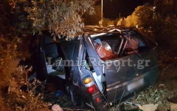 Νεκρός οδηγός αυτοκινήτου μετά από δυστύχημα στη Στυλίδα