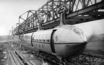 Το τρένο-αεροπλάνο που λίγο έλειψε να αλλάξει τη μοίρα των συγκοινωνιών