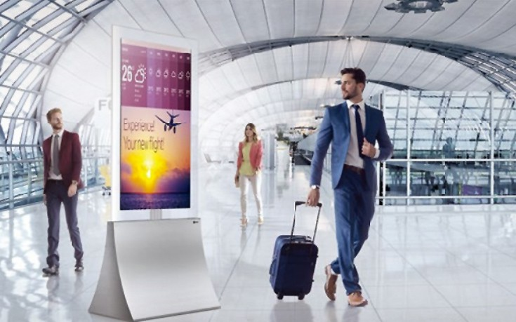 Η καινοτομία έχει δύο όψεις με τη νέα σειρά LG OLED In-Glass Wallpaper Digital Signage
