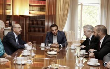 Τη νέα ηγεσία του Αρείου Πάγου συνάντησε ο Τσίπρας
