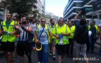 Δικαιωμένοι για τον αγώνα τους δηλώνουν οι εργαζόμενοι στα μεταλλεία Χαλκιδικής