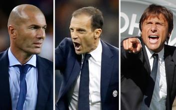 Zidane Allegri Conte