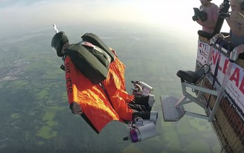 Η στολή με τις... τουρμπίνες για να σκίζει ο άνθρωπος τον αέρα
