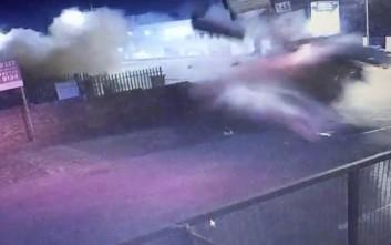 Βίντεο από ένα τρομακτικό τροχαίο