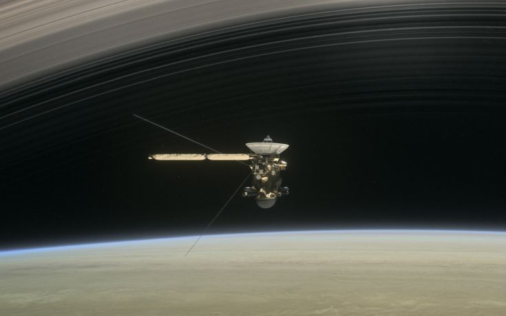 Το διαστημόπλοιο Cassini θα «αυτοκτονήσει» στην ατμόσφαιρα του Κρόνου