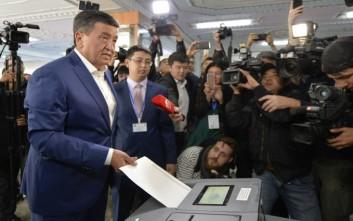 Εύκολη νίκη για τον Τζινμπέκοφ στις εκλογές του  Κιργιστάν