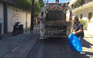 Συνελήφθη ο αντιδήμαρχος Λαμίας γιατί μάζευε σκουπίδια