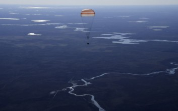 Αποσυμπίεση υπέστη το διαστημόπλοιο Soyuz MS-02 κατά την προσγείωση