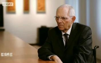 Σόιμπλε: Πιστεύω ότι ο εφιάλτης έχει τελειώσει, ζήτημα Grexit δεν τίθεται