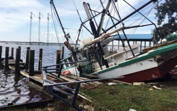Έβρεξε νεκρά ψάρια εξαιτίας του τυφώνα Νέιτ