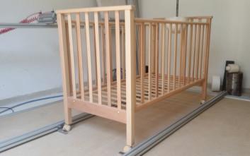 «Σοβαρές κατασκευαστικές ελλείψεις» σε παιδικά κρεβατάκια