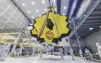 Καθυστερεί κι άλλο το μεγαλύτερο διαστημικό τηλεσκόπιο
