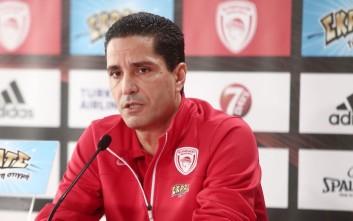 Σφαιρόπουλος: Οι παίκτες αντέχουν, για αυτό είναι στον Ολυμπιακό
