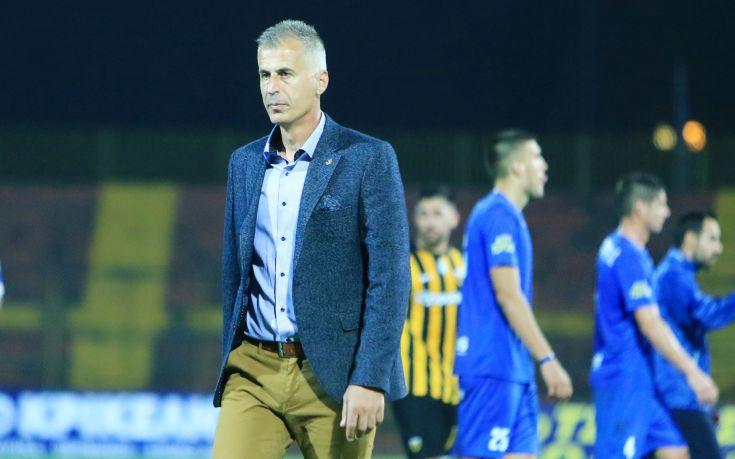 Πλήρωσε την επτάρα από την ΑΕΚ ο προπονητής του Απόλλωνα Λάρισας