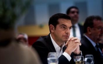 Ο Τσίπρας στην Τριμερή Σύνοδο Κορυφής Ελλάδας-Κύπρου-Αιγύπτου