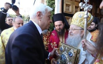 Εικόνες από τους εορτασμούς στη Θεσσαλονίκη