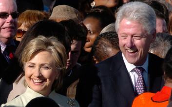 Δύο ξένοι στο ίδιο σπίτι Χίλαρι και Μπιλ Κλίντον