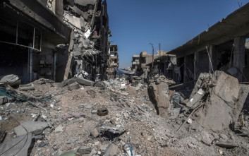 Η ερειπωμένη Ράκα, τα συντρίμμια της «πρωτεύουσας» του Ισλαμικού Κράτους