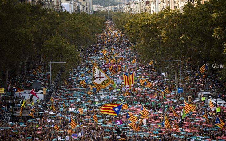 Καζάνι που βράζει η Καταλονία