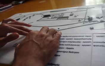 Στο βιωματικό πάρκο Λειβήθρων Πιερίας ο πρώτος απτικός χάρτης αρχαιολογικού χώρου