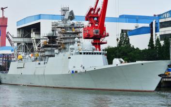 Πλοία του Πολεμικού Ναυτικού της Κίνας κατέπλευσαν στο λιμάνι του Πειραιά