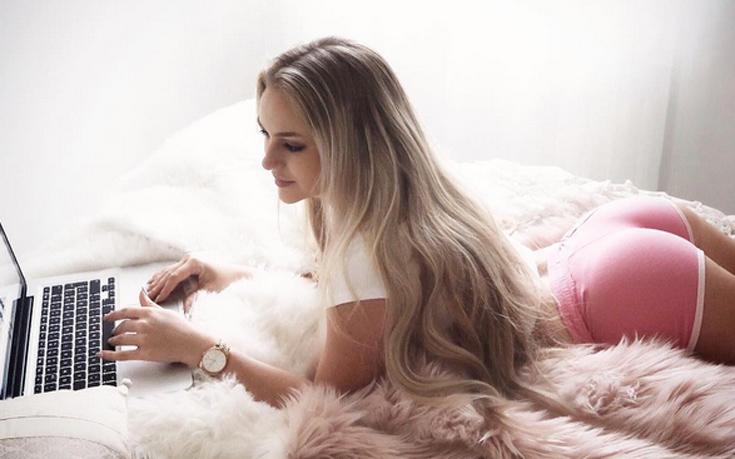 Η ξανθιά πρόκληση Anna Nyström