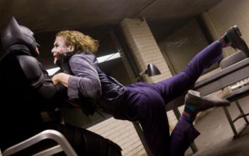 Ο Χιθ Λέτζερ ήθελε να τον χτυπά αληθινά ο Κρίστιαν Μπέιλ κατά τα γυρίσματα του «Batman»!