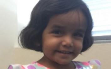 Βρέθηκε το πτώμα του 3χρονου κοριτσιού που τιμώρησε ο πατέρας του γιατί δεν έπινε γάλα