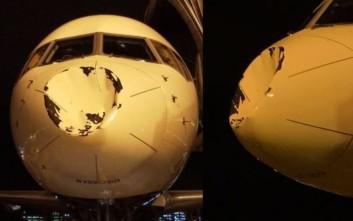 Τρόμος στον αέρα για ομάδα του NBA, το αεροσκάφος τους προσγειώθηκε με παραμορφωμένο ρύγχος
