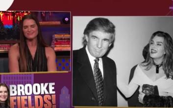 Όταν η Μπρουκ Σιλντς έριξε χυλόπιτα στον Ντόναλντ Τραμπ