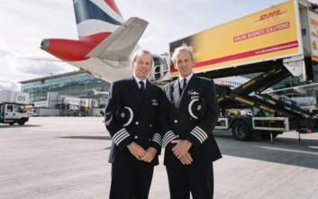 Δίδυμοι πιλότοι προσγειώνουν τις στερνές τους πτήσεις με τη διαφορά των δευτερολέπτων που ήρθαν στη ζωή
