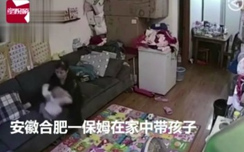 Νταντά ξεσπά βίαια στο μωρό γιατί... «δεν είχε καλή διάθεση»
