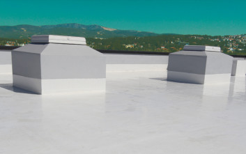 Προστατέψτε την ταράτσα σας από τα λιμνάζοντα νερά με το ISOFLEX HYBRID