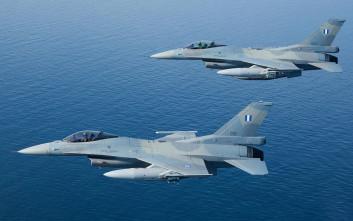 Δύο αερομαχίες με τουρκικά μαχητικά σε Χίο και Λέσβο