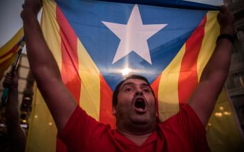 Ξεπέρασε κάθε προσδοκία η συγκέντρωση Καταλανών στις Βρυξέλλες