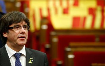 Αύριο οδηγείται ενώπιον δικαστή στη Γερμανία ο Κάρλες Πουτζντεμόν