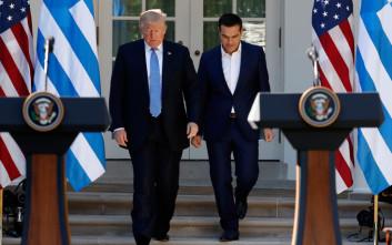 Τραμπ: Ενθάρρυνα τον Τσίπρα να συνεχίσει τις μεταρρυθμίσεις