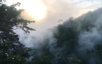 Το ποτάμι του Περού με το ζεματιστό νερό που σκοτώνει ό,τι πέσει μέσα του
