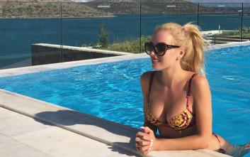 Η ωραία ξανθιά της ελληνικής τηλεόρασης