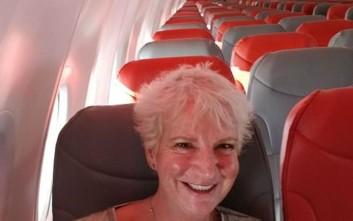 Ταξίδεψε στην Κρήτη ως η μοναδική επιβάτιδα του αεροπλάνου