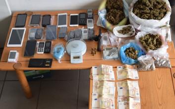 Εξαρθρώθηκαν δυο συμμορίες που διακινούσαν ναρκωτικά στην Πελοπόννησο