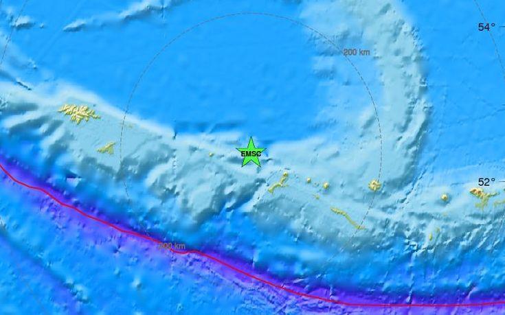 Σεισμός 6,6 Ρίχτερ στον βόρειο Ειρηνικό