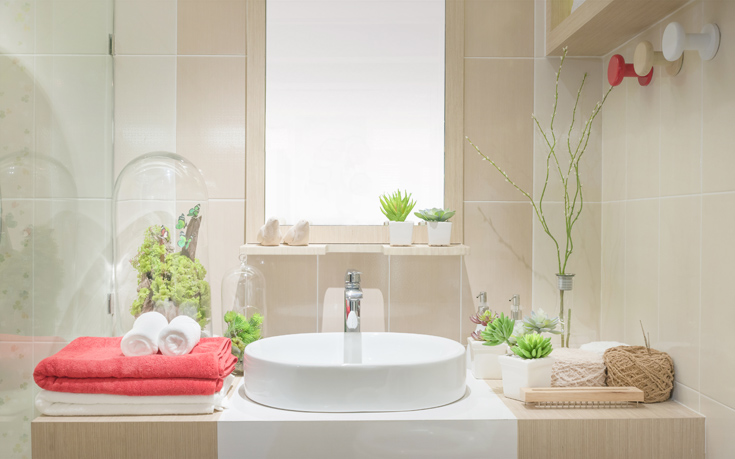 Τέσσερις τρόποι για να μην έχετε μούχλα στο μπάνιο