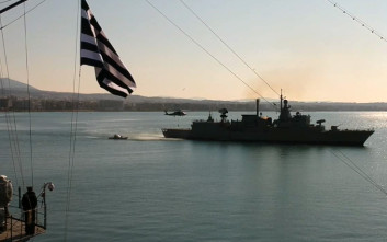 Η επίδειξη του Πολεμικού Ναυτικού στη Θεσσαλονίκη από drone