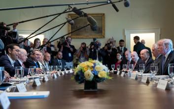 Ο Τσίπρας κάλεσε τον Τραμπ να επισκεφτεί την Ελλάδα