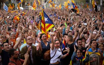 Οι Καταλανοί αυτονομιστές πάνε Βρυξέλλες