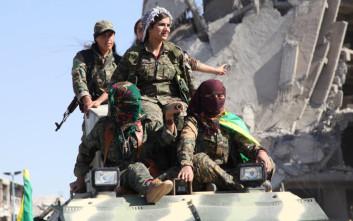 Οι «Αμαζόνες» των Κούρδων στη Συρία πολεμούν για τις γυναίκες και τον Οτσαλάν