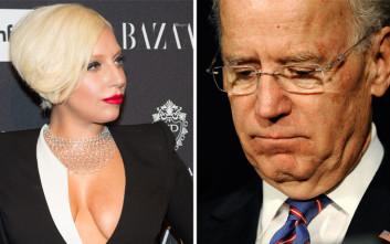Lady Gaga-Τζο Μπάιντεν: Να μη σηκώνουν χέρι οι άντρες στις γυναίκες