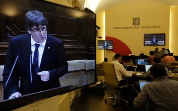 «Συμβολική πράξη» η κήρυξη της ανεξαρτησίας στην Καταλονία