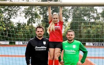 Διάσημη πορνοστάρ έγινε… χορηγός ομάδας ποδοσφαίρου